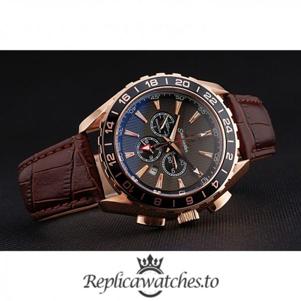 Omega Seamaster Replica 622536 Brown Strap 51MM×43MM