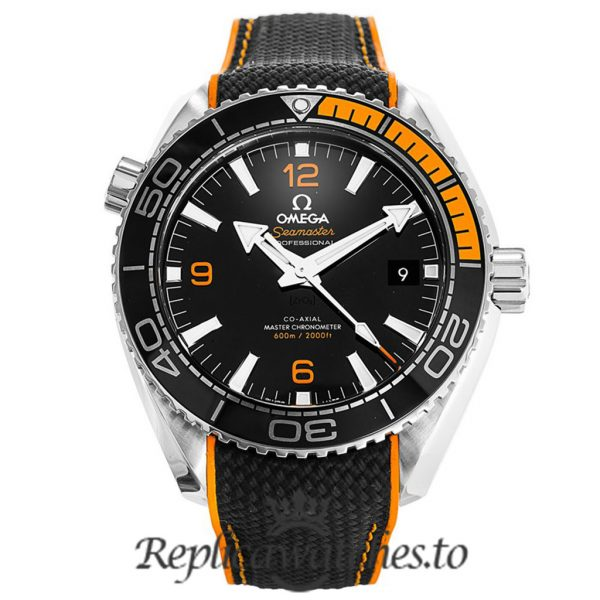 Omega Seamaster Replica 215.32.44.21.01.001 Black Strap 43.5MM