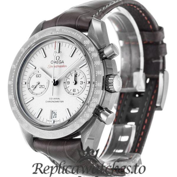Omega Speedmaster Replica 311.93.44.51.99.001 Silver Dial 44.2MM