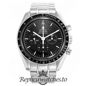 Omega Speedmaster Replica 3570.50.00 Black Dial 42MM