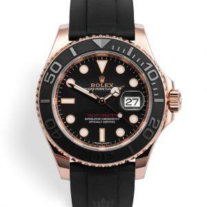 Rolex Yacht Master Replica 116655 Black Strap 40MM