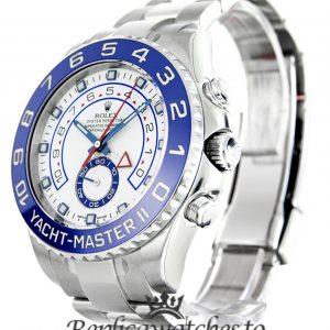 Rolex Yacht Master Replica 116680 Blue Bezel 44MM
