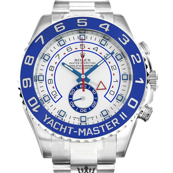 Rolex Yacht Master Replica 116680 Blue Bezel 44MM