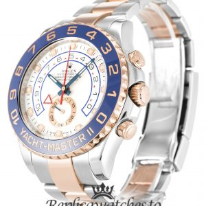 Rolex Yacht Master Replica 116681 Blue Bezel 44MM