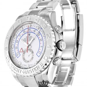 Rolex Yacht Master Replica 116689 White Gold Strap 44MM