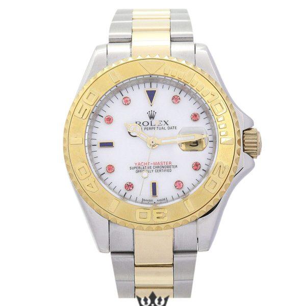 Rolex Yacht Master Replica 16623 002 Yellow Gold Bezel 40MM