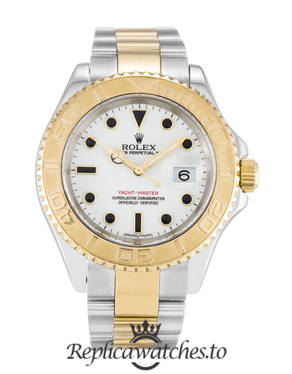 Rolex Yacht Master Replica 16623 003 Yellow Gold Bezel 40MM