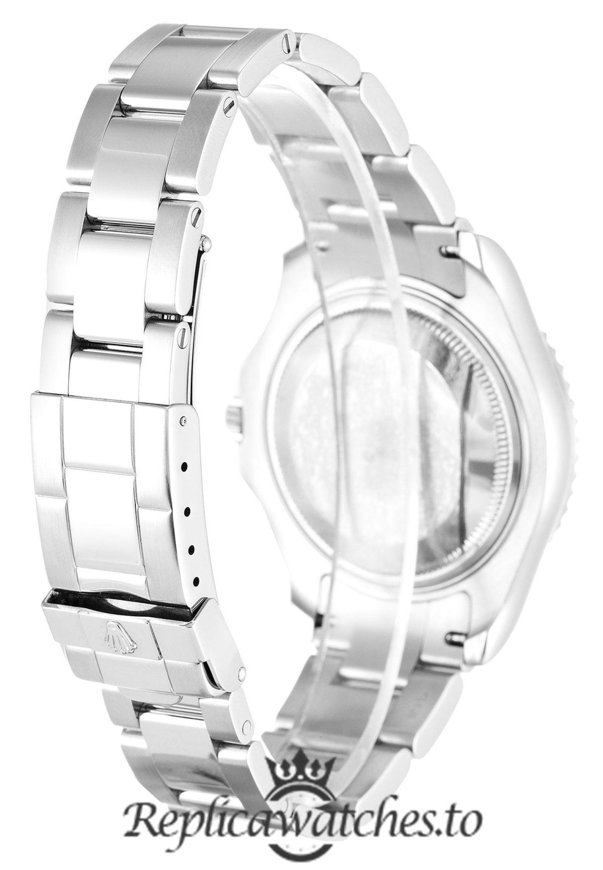 Rolex Yacht Master Replica 168622 001 Silver Strap 35MM
