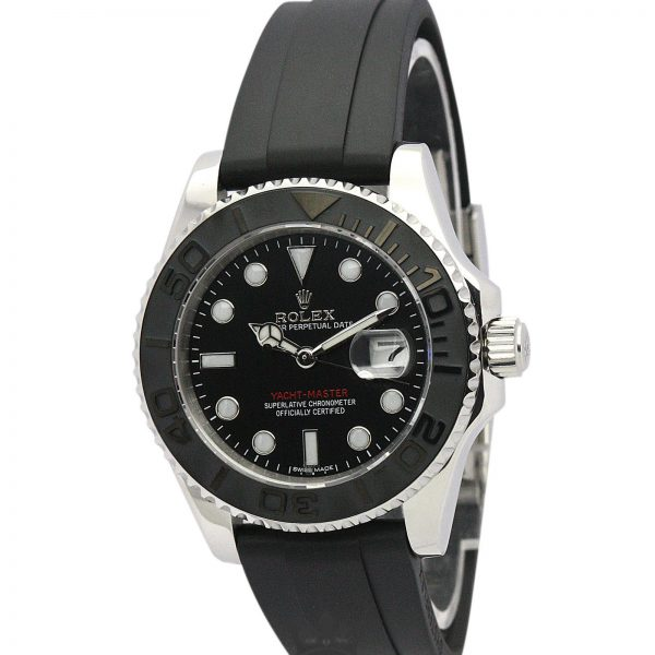 Rolex Yacht Master Replica 169622 002 Black Strap 35MM