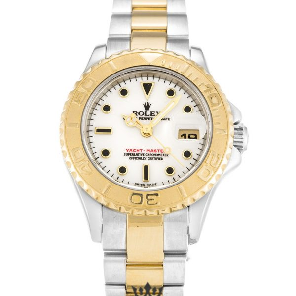 Rolex Yacht Master Replica 169623 001 Yellow Gold Bezel 29MM
