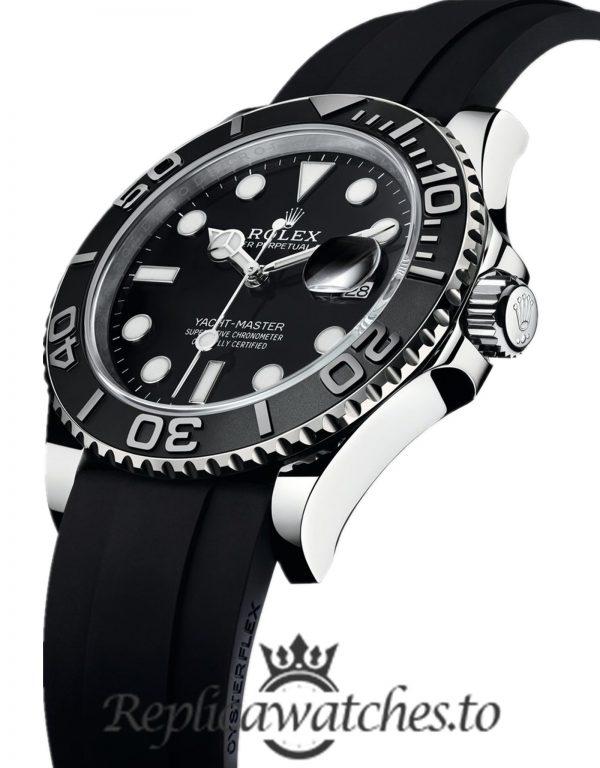 Rolex Yacht Master Replica m226659 Black Strap 42MM