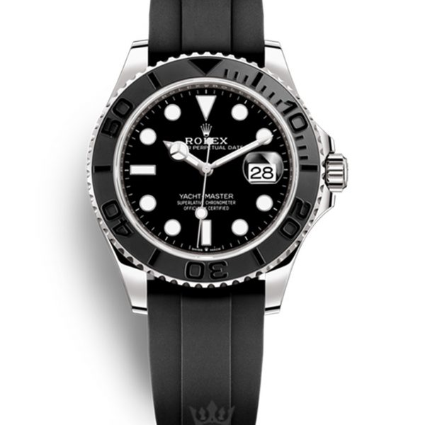 Rolex Yacht Master Replica m226659 Black Strap 42MM