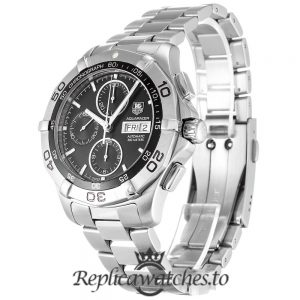Tag Heuer Aquaracer Replica CAF2010.BA0815 Black Dial 43MM