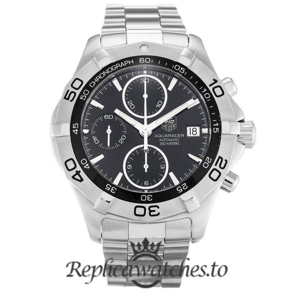 Tag Heuer Aquaracer Replica CAF2110.BA0809 Black Dial 41MM