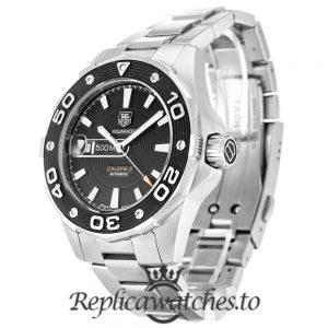Tag Heuer Aquaracer Replica WAJ2110.BA0870 Black Dial 43MM