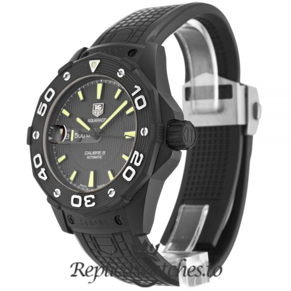 Tag Heuer Aquaracer Replica WAJ2180.FT6015 Black Dial 43MM