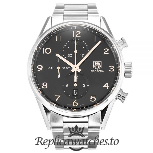 Tag Heuer Carrera Replica CAR2014.BA0796 Silver Strap 43MM
