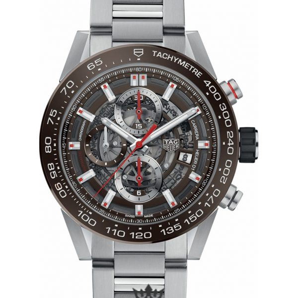 Tag Heuer Carrera Replica CAR201U.BA0766 Silver Strap 43MM