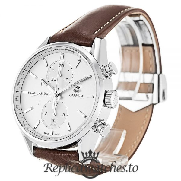 Tag Heuer Carrera Replica CAR2111.FC6291 Brown Strap 41MM