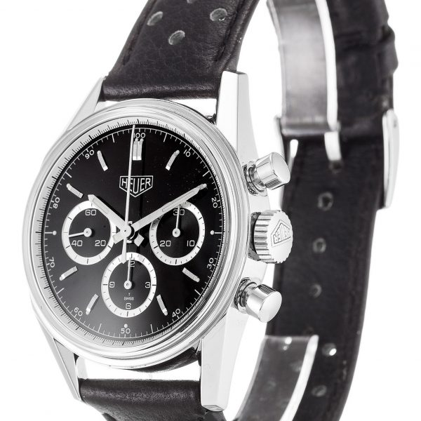 Tag Heuer Carrera Replica CS3113 Black Strap 37MM