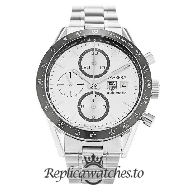 Tag Heuer Carrera Replica CV2011.BA0786 Black Bezel 41MM