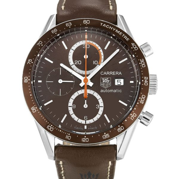 Tag Heuer Carrera Replica CV2013.FC6234 Brown Strap 41MM
