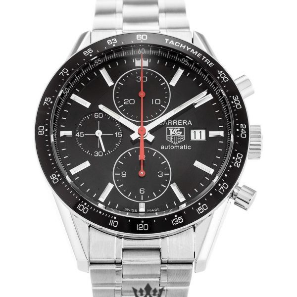 Tag Heuer Carrera Replica CV2014.BA0794 Black Bezel 41MM