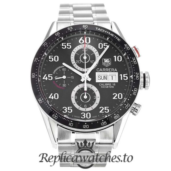 Tag Heuer Carrera Replica CV2A10.BA0796 Black Dial 43MM
