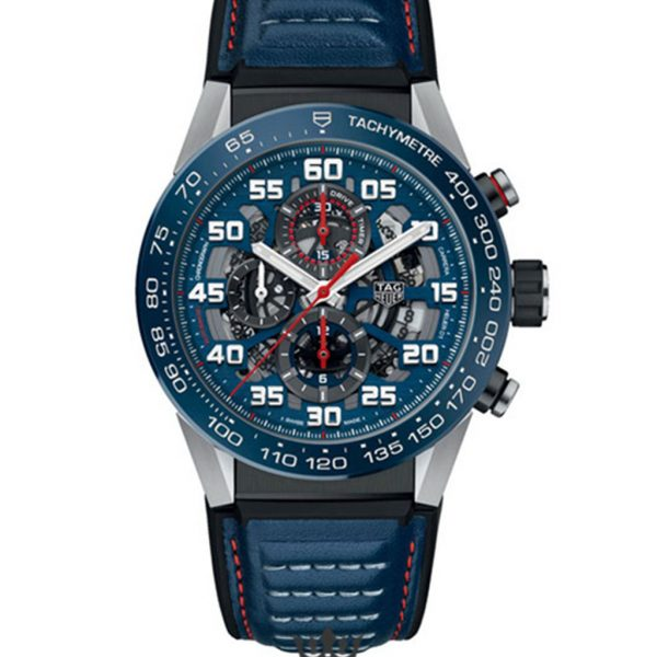 Tag Heuer Carrera Replica car2a1n.ft6100 Blue Strap 42MM