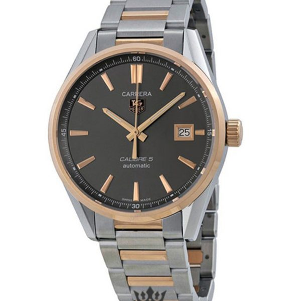 Tag Heuer Carrera Replica war215e.bd0784 Gold Bezel 39MM