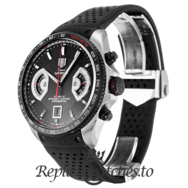 Tag Heuer Grand Carrera Replica CAV511C.FT6016 Black Dial 43MM