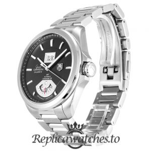 Tag Heuer Grand Carrera Replica WAV5111.BA0901 Black Dial 42.5MM