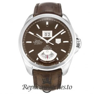 Tag Heuer Grand Carrera Replica WAV5113.FC6225 Brown Dial 42MM