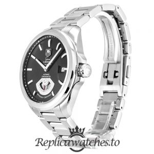 Tag Heuer Grand Carrera Replica WAV511A.BA0900 Black Dial 40.2MM