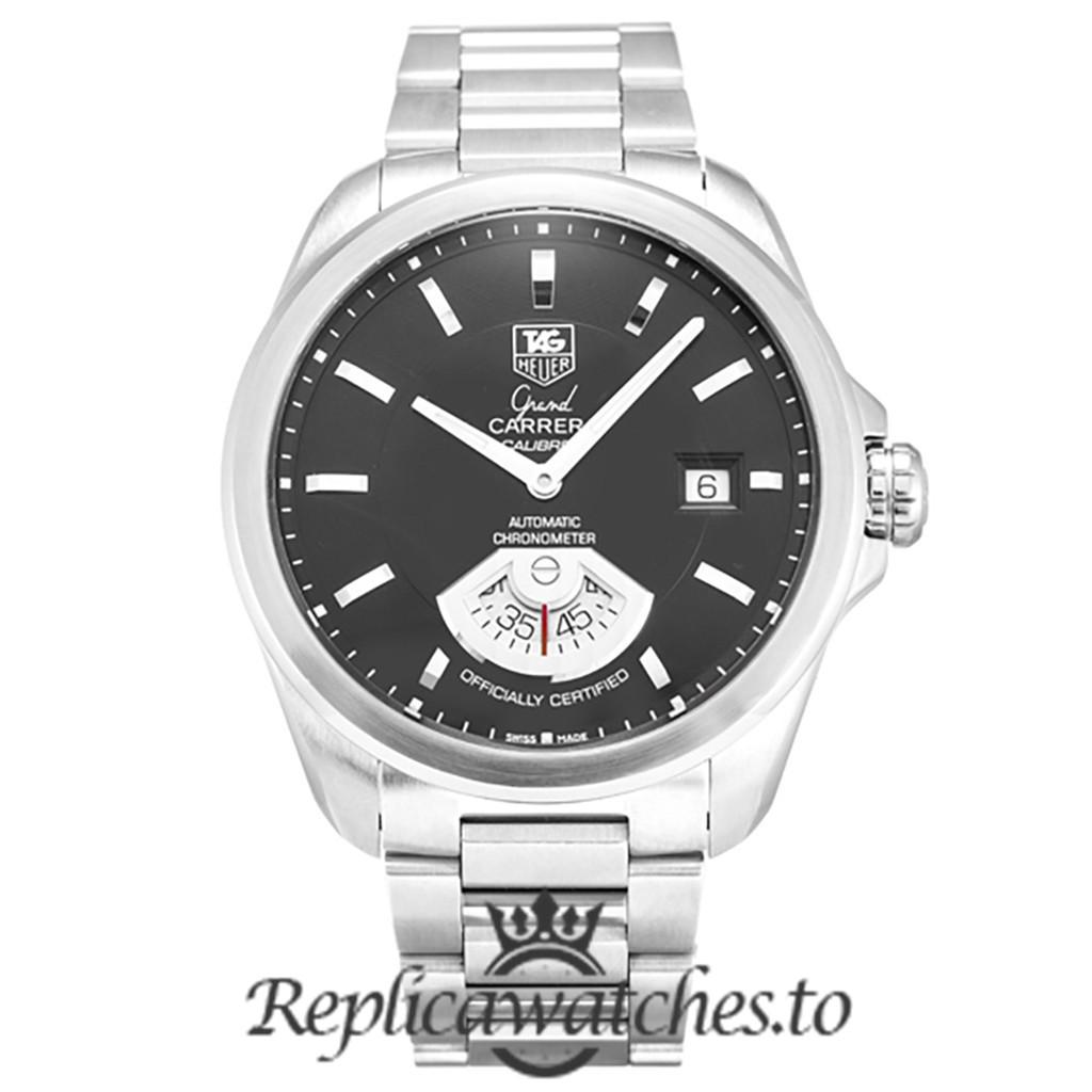 Tag Heuer Grand Carrera Replica WAV511A.BA0900 Black Dial 40.2MM