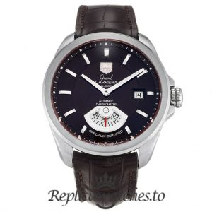Tag Heuer Grand Carrera Replica WAV511C.FC6230 Black Dial 40.2MM