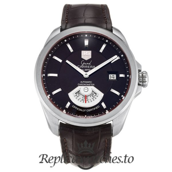 Tag Heuer Grand Carrera Replica WAV511C.FC6230 Black Dial 40.2MM