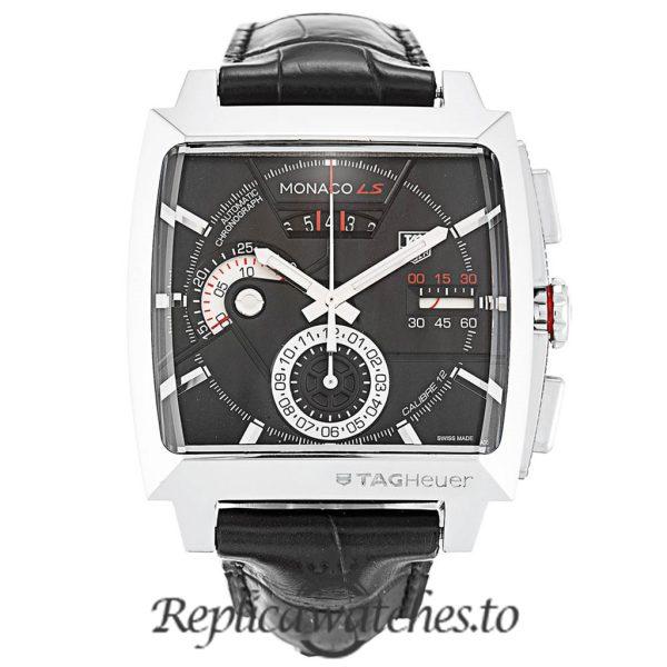 Tag Heuer Monaco Replica CAL2110.FC6257 Black Dial 40.5MM