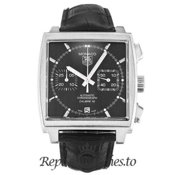 Tag Heuer Monaco Replica CAW2110.FC6177 Black Dial 39MM