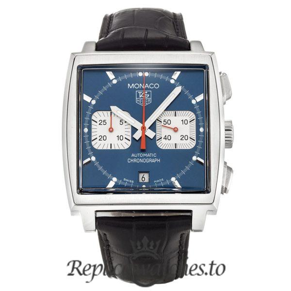 Tag Heuer Monaco Replica CW2113.FC6183 Blue Dial 38MM