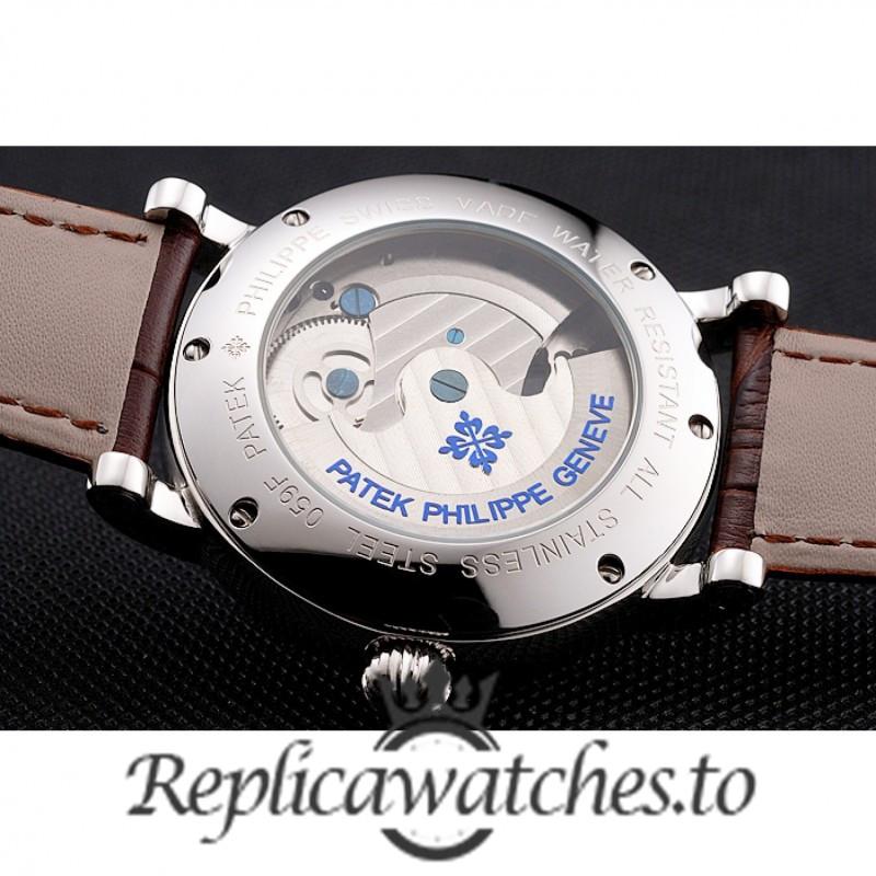Patek Philippe Grand Complications Replica Brown Strap 42MM