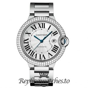 Cartier Ballon Bleu Replica WE9009Z3 Grey Dial 42MM