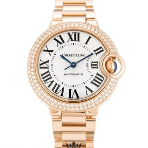 Cartier Ballon Bleu Replica WE902034 Silver Dial 33MM