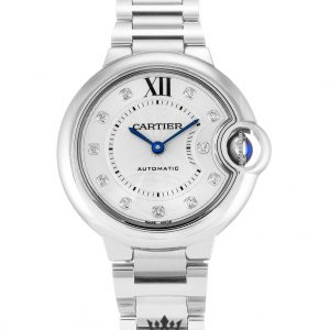 Cartier Ballon Bleu Replica WE902074 Silver Dial 29MM