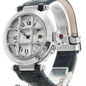 Cartier Pasha Replica W3102255 White Dial 38MM
