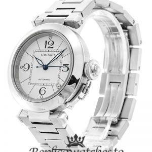 Cartier Pasha Replica W31074M7 White Dial 35MM