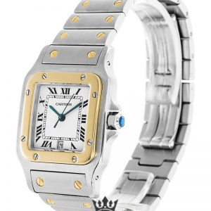Cartier Santos Replica W20011C4 White Dial 28MM
