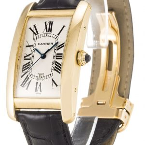 Cartier Tank Americaine Replica W2603156 Silver Dial 27MM
