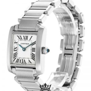 Cartier Tank Francaise Replica W51008Q3 White Dial 20MM