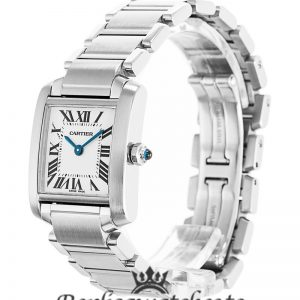 Cartier Tank Francaise Replica W51011Q3 White Dial 25MM